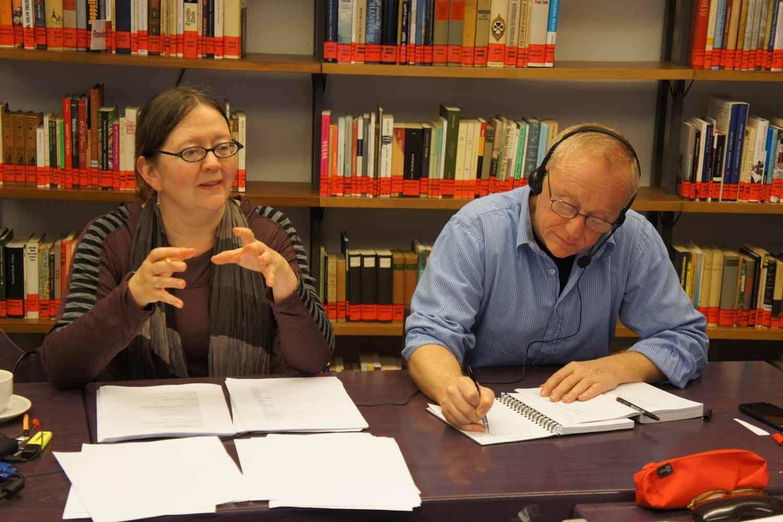 Übersetzerseminar mit von Anne Birkenhauer mit David Grossman zu Aus der Zeit fallen